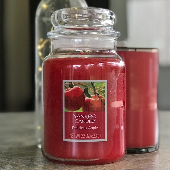 Yankee Candle Delicious Apple 22-Oz Lg Jar, New